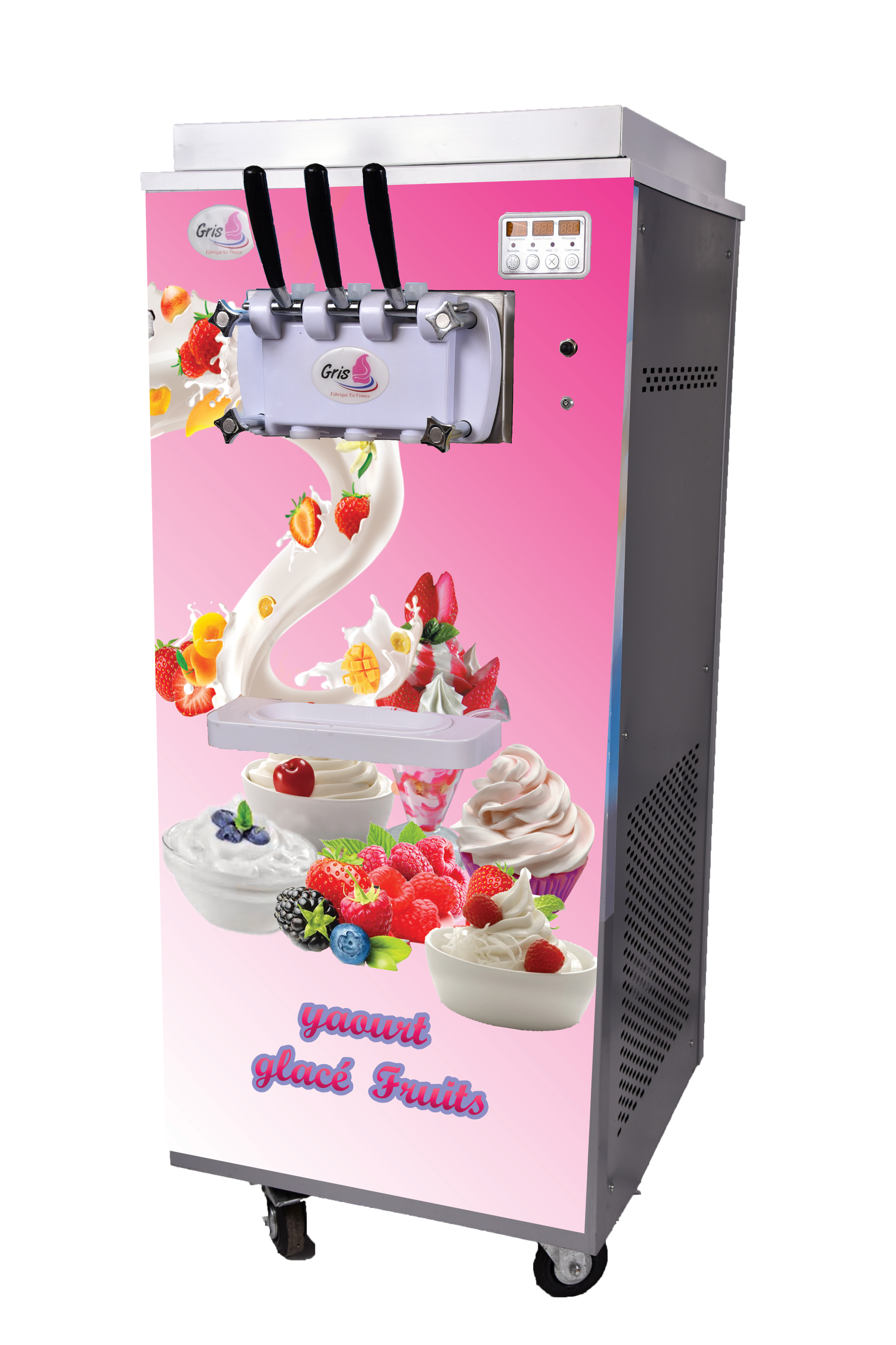 machine yaourt glac frozen yogurt la glace au yaourt. Black Bedroom Furniture Sets. Home Design Ideas